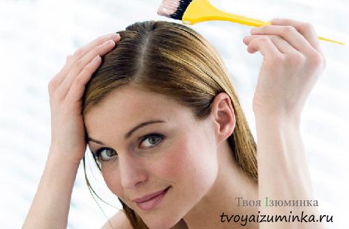 Правила окрашивания волос дома