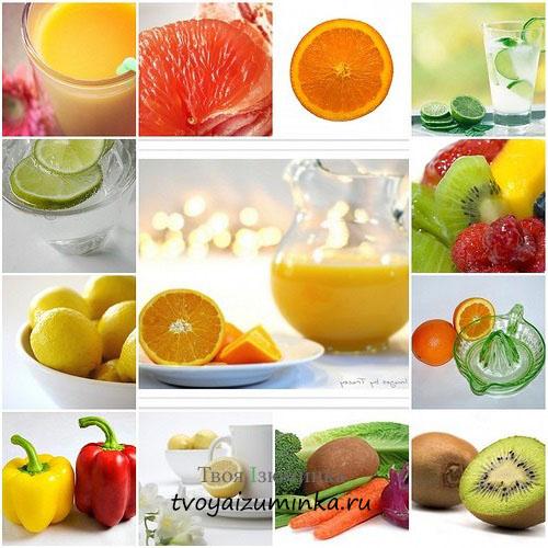 Продукты витаминные для похудения