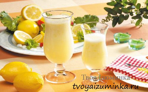 Рецепт приготовления домашнего лимонада
