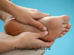 Точечный массаж стопы
