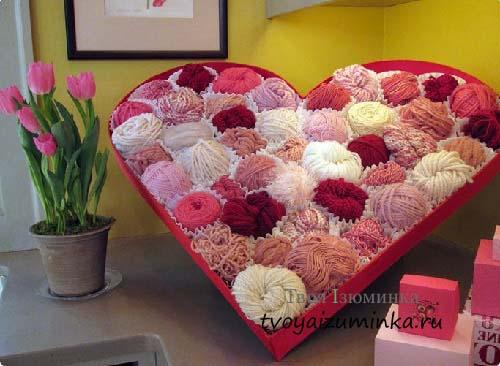 Красочная композиция ко Дню святого Валентина