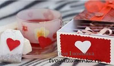 Набор чая ко Дню святого Валентина