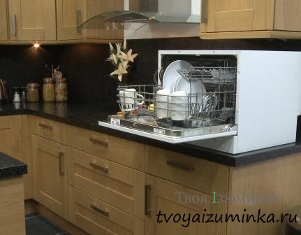 Настольная посудомоечная машина.