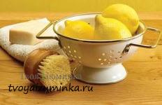 Лимон для очищения микроволновки