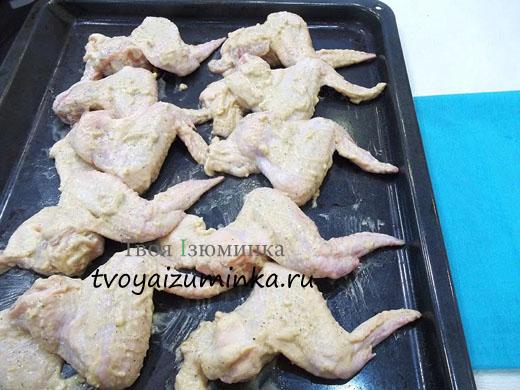 куриные крылышки в терияки в духовке рецепт