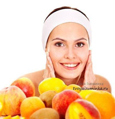 Маски для лица из фруктов и ягод в домашних условиях