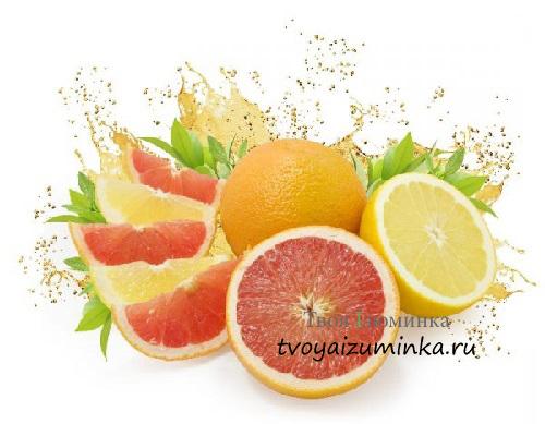 Апельсины и грейпфрут