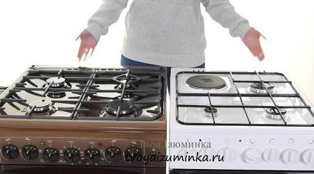 Выбор плиты