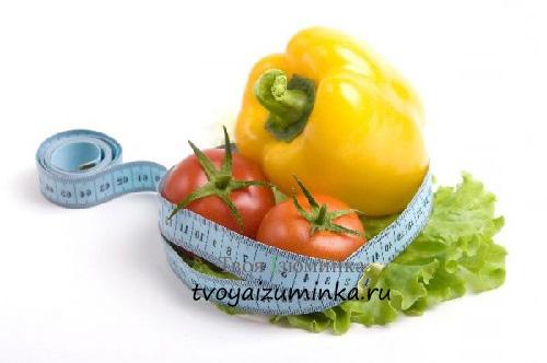 Суть салатной диеты