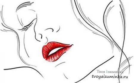 Чувственные губы