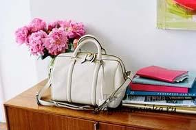 Как очистить белую сумку
