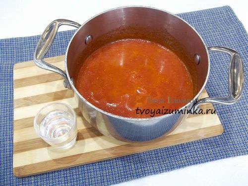 Кетчуп и уксус