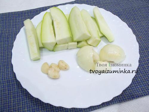 Овощи для оладий