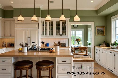 Секреты правильного освещения кухни