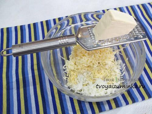 Натертый плавленный сыр