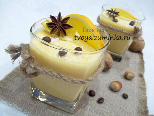 Творожно-тыквенный десерт