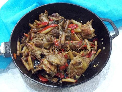 салат черепаха с черносливом и курицей рецепты с фото