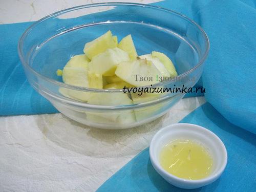 Лимонный сок для маринования яблок
