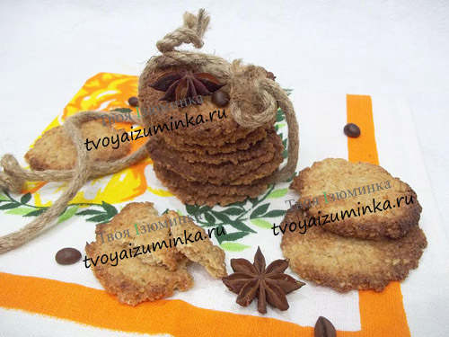 Диетическое печенье без муки из овсянки на рассоле