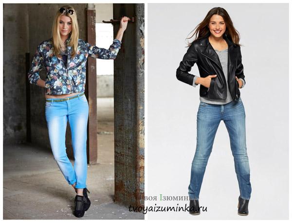 Куртка- блузон и байкерская, мода - 2016