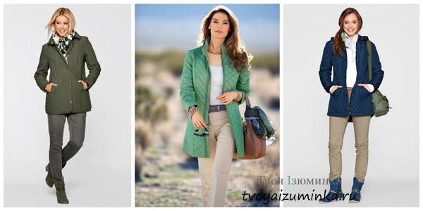 Куртки со стежкой - 2016