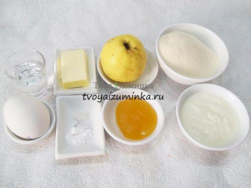 jogurtovyj-pirog-s-mankoj-i-yablokami-ingredienty