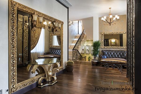 Зеркала в стиле Ампир