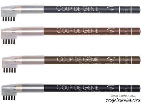 Карандаш для бровей Coup de Genie