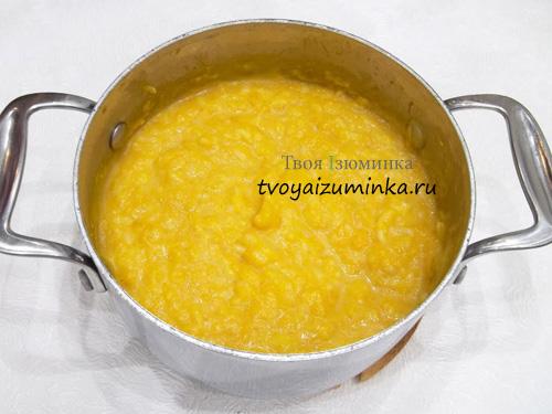 Готовая тыквенно-рисовая каша