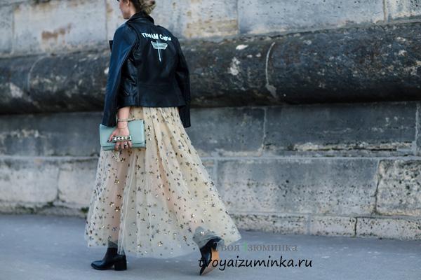 Косуха и пышная юбка