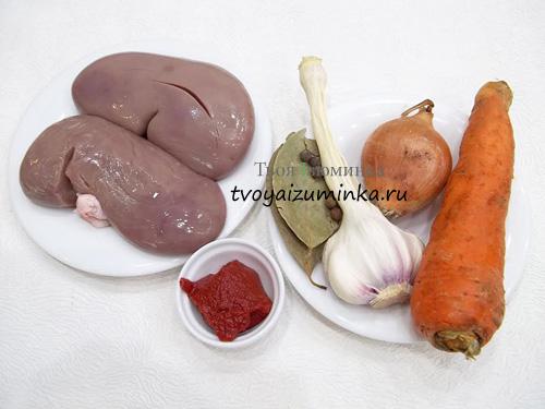 Почки свиные рецепт приготовления
