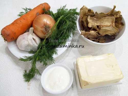Как приготовить грибной крем-суп со сливками