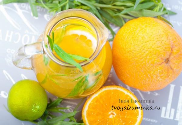 Напиток для иммунитета с лимоном