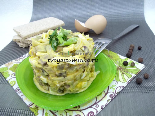 Рецепт - салат из свиного сердца - пошаговое фото 16