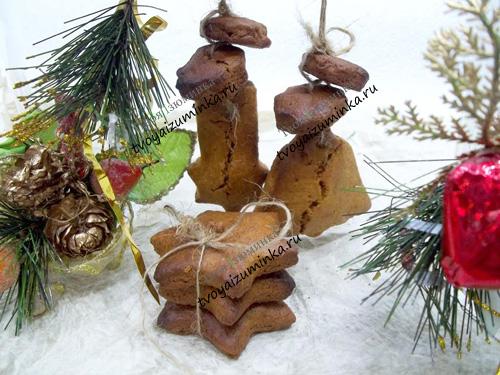 Имбирно-медовое печенье с пряностями: вкусный десерт и елочное украшение