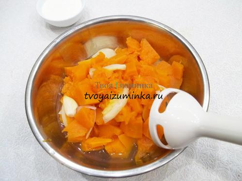 Как приготовить крем-суп из тыквы со сливками