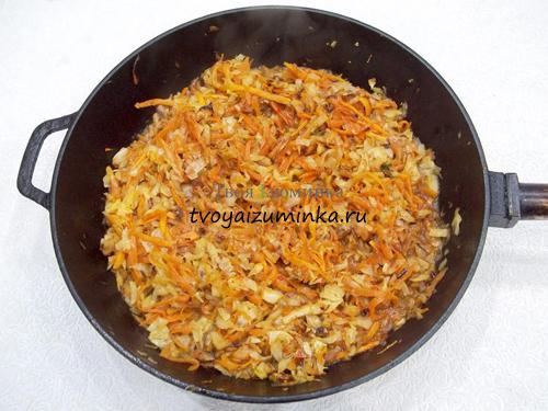 Как приготовить тушеную капусту с томатной пастой