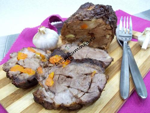 Украинская домашняя колбаса - рецепт как приготовить