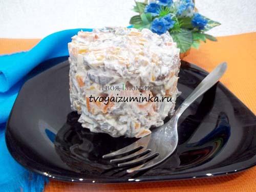 Салат из говяжьего сердца: рецепт с фото пошагово