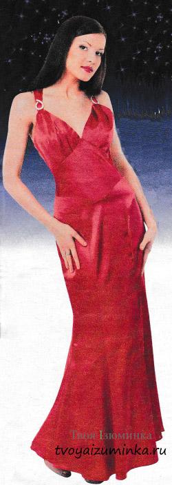 Вечернее платье в пол своими руками: выкройка, схемы, как шить