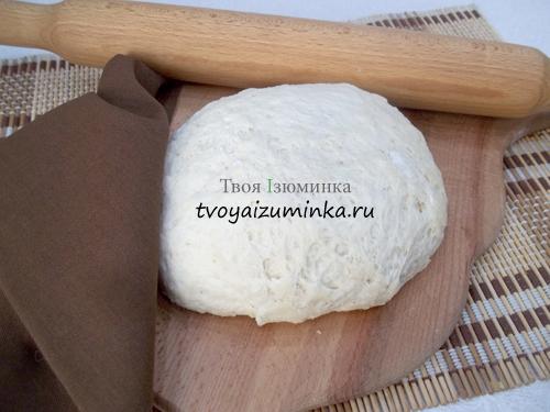 рецепт с пошаговым фото тесто для пиццы
