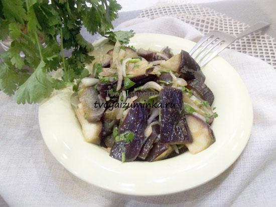 Маринованные баклажаны с чесноком: быстрый рецепт приготовления