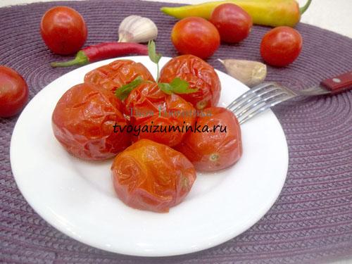 Запеченные помидоры в духовке по рецепту Дюкана