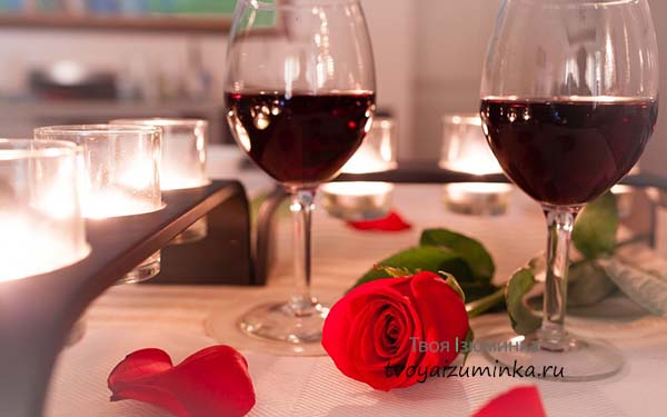 Как приготовить романтический ужин для двоих за час?