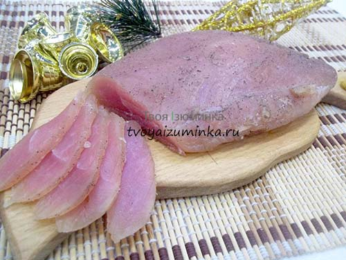 Балык из филе индейки сыровяленый: как приготовить в домашних условиях