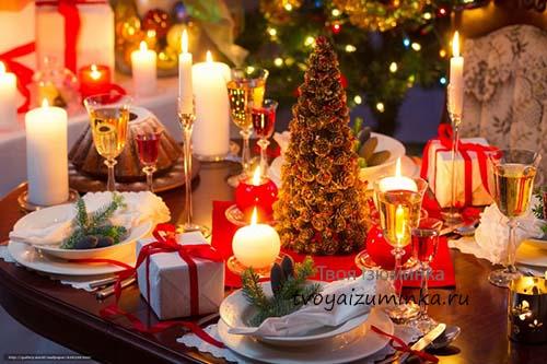 Как украсить стол на Рождество. Традиционная рождественская выпечка