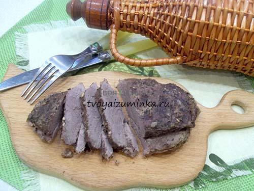Утиная грудка запеченная в духовке: пошаговый рецепт с фото