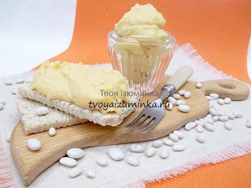 Пюре из фасоли пошаговый рецепт с фото