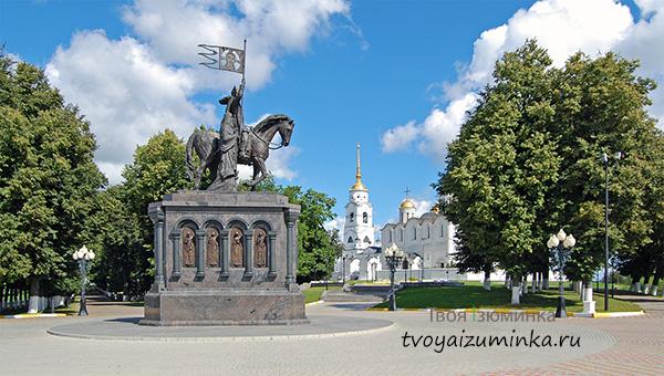 Фото Владимира - Памятник князю Владимиру и святителю Федору.