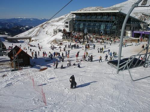 Греция горнолыжный курорт.